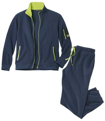 Jogging-Anzug Winter Play aus Fleece