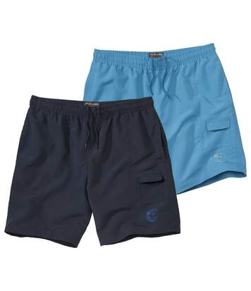 Set van 2 Pacific Surf shorts