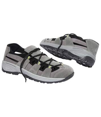 Men's Grey Casual Sport Shoes