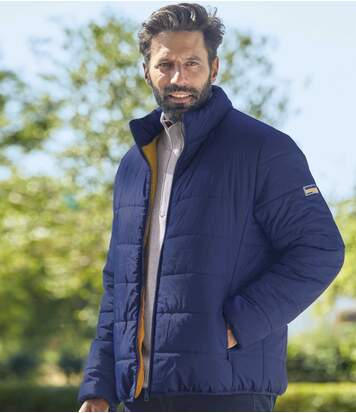 Men's Blue Atlas® Puffer Jacket