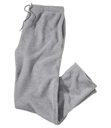Men's Fleece Lounge Trousers - Grey