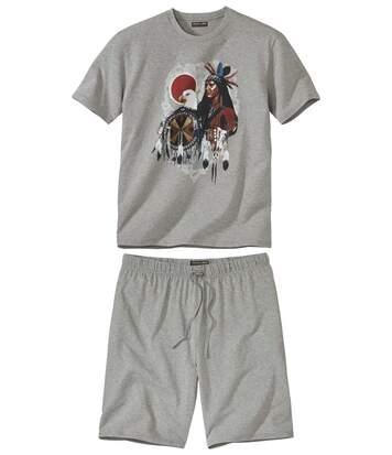 Krátke pyžamo West Legend