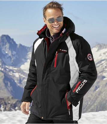 Parka z kapturem Ski Mountain Tech