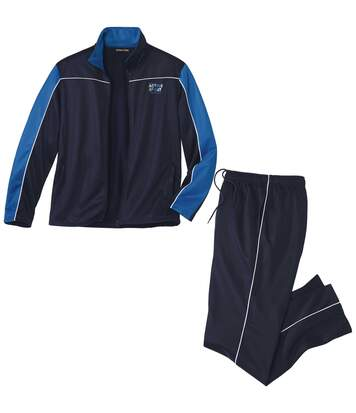 Men's Navy Activewear Tracksuit
